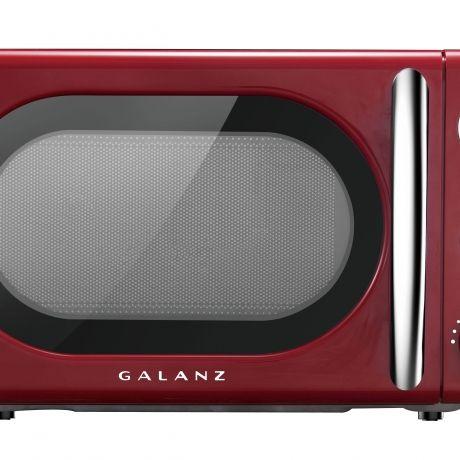 700-Watt Countertop Microwave Ft Bee Bop Blue Galanz GLCMKA07BER-07 0.7 Retro cu
